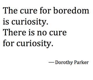 no cure • dorothy parker