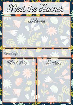 free meet the teacher template - meet the teacher template letter templates letters and