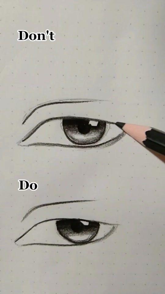 Trending Videos On Tiktok Line Art Drawings Eye Drawing Eye Art