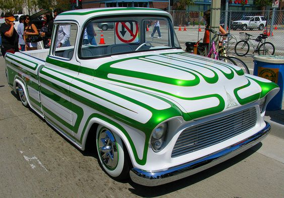 Lowrider Truck by Steam Pirate, via Flickr | WHEELS ... Lowrider Cars And Trucks