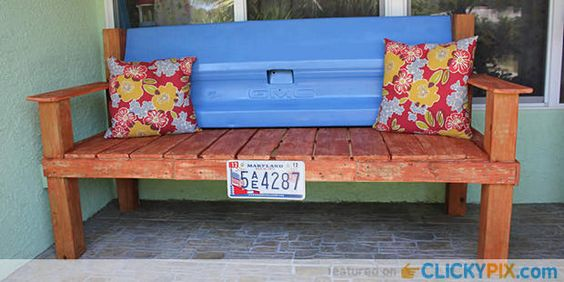 41 Truck Tailgate Benches – Upcycle Your Rusty Tailgate by making it into a bench with a back or without a back. One person even made their old tailgate into a swing. Show your truck loyalty and use you Ford, Chevrolet, Dodge, GMC, Toyota or whatever your favorite truck model is. Do you like these …