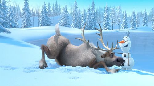 #Olaf #Sven #Frozen