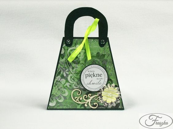 Kartka torebka / Purse card