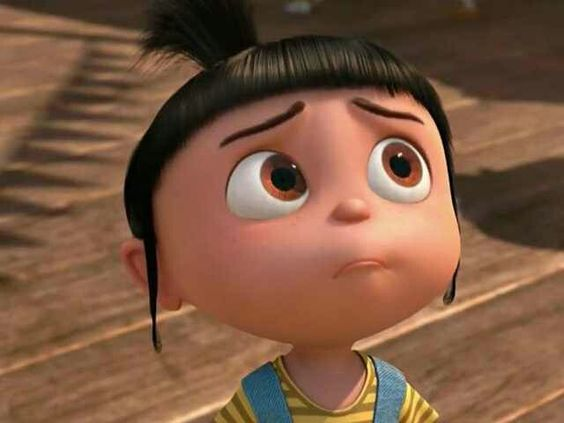 My dad always says i look like angus off of dispicable me..