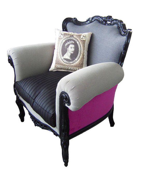 Unique Armchairs: Unique Armchair By NapAtelier On Etsy, €849.00