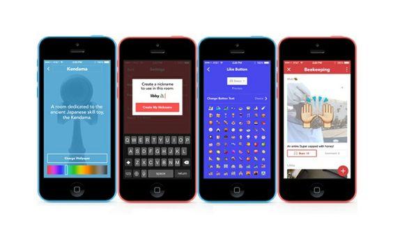 Facebook Presenta Rooms para iPhone, una Nueva App de Chat