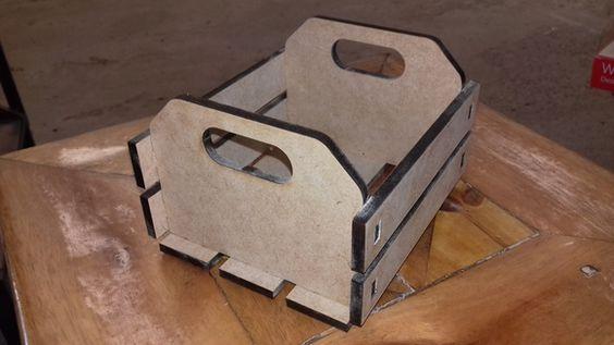 Porta Guardanapos Caixa de Frutas