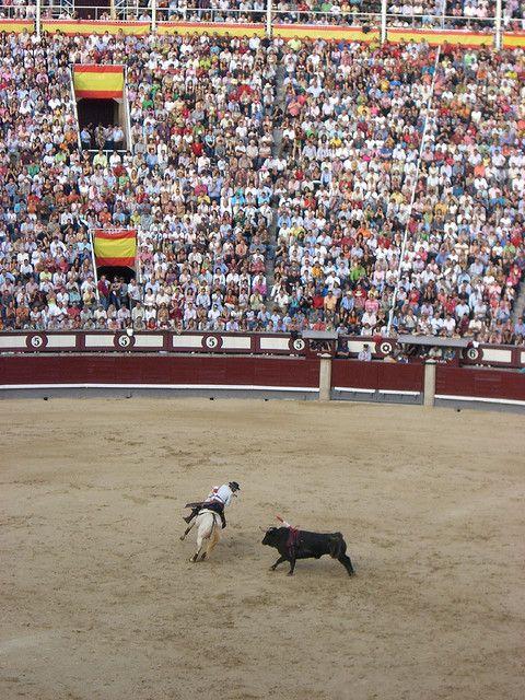 San Isidro Festival Rejones-Madrid, Spain