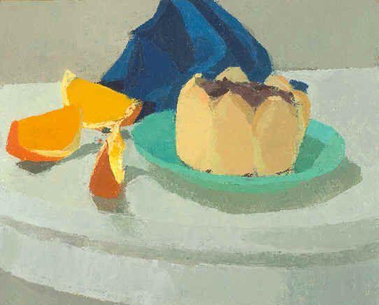 Ken Kewley, Black and White with Orange Slices