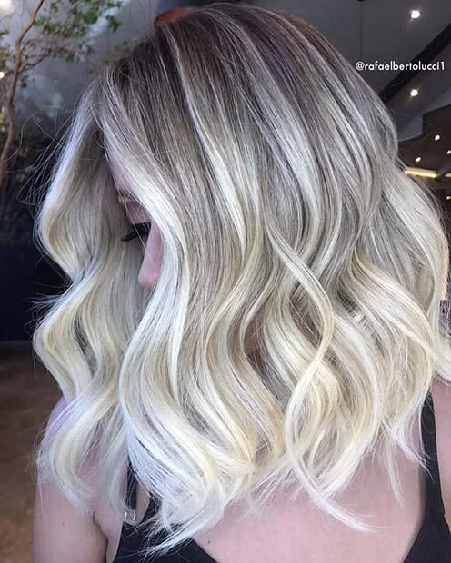 22 Classy Lob Hairstyles For Fall And Winter 2019 Hair Styles Ash Blonde Hair Colour Blonde Hair Color