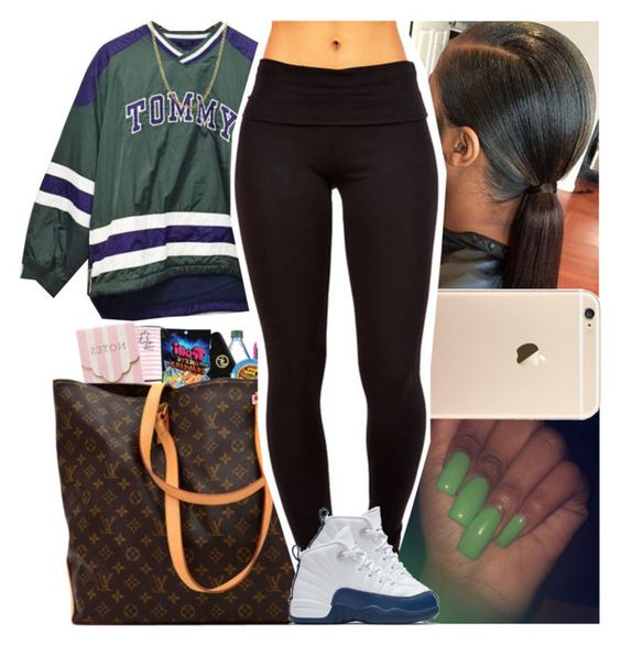 Back2school #49 by msixo on Polyvore featuring polyvore fashion style Lord & Taylor NIKE clothing