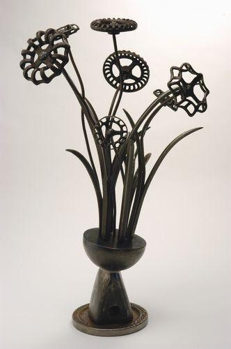 Vintage Metal Flowers