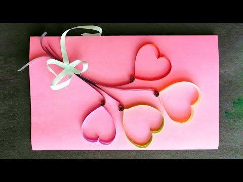 Handmade Birthday Card Idea Complete Tutorial Youtube Greeting Cards Handmade Birthday Birthday Cards Handmade Birthday Cards