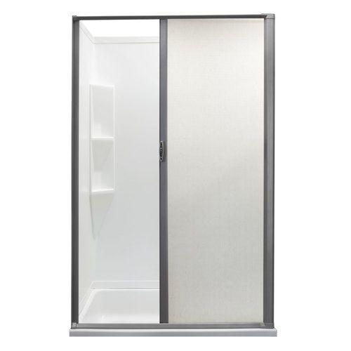 Rv Retractable Rolling Shower Door Platinum Recpro Shower Doors Vinyl Doors