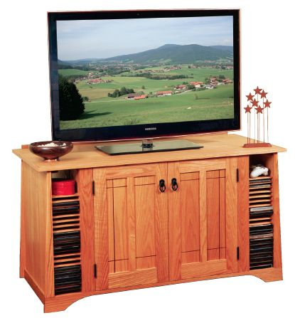 Modern Furniture Woodworking Plans how to build a modern arts and crafts entertainment center | arts