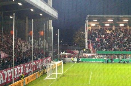 Das alte Georg Melches Stadion von Rot Weiss Essen.