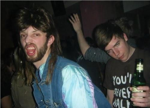 Joe Dirt Dance Party In This Picture: Photo of white trash party