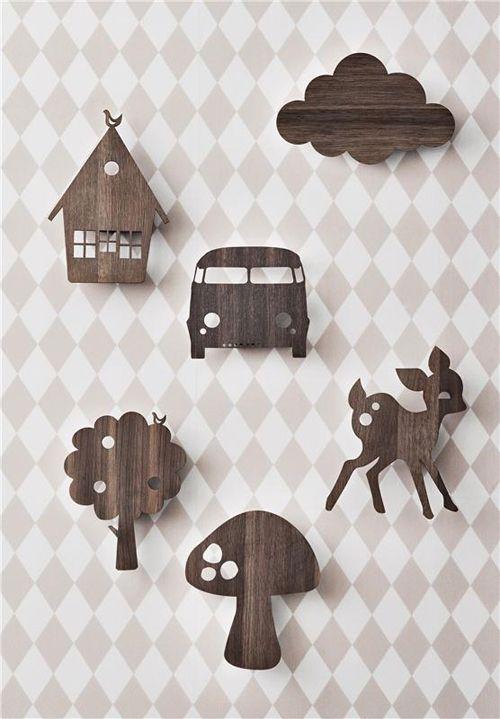 Studio ToutPetit: Wee Walls Wednesdays * Lamps by Ferm Living Kids