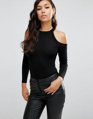 ASOS – GERIPPTER, HOCHGESCHLOSSENER BODY #fashion #style #trend #onlineshop #shoptagr