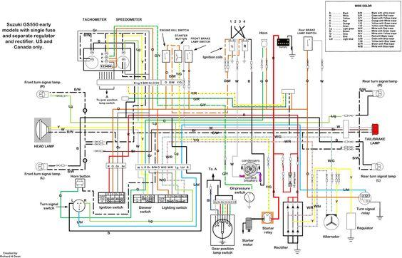 Suzuki Gs550 Wiring Diagram