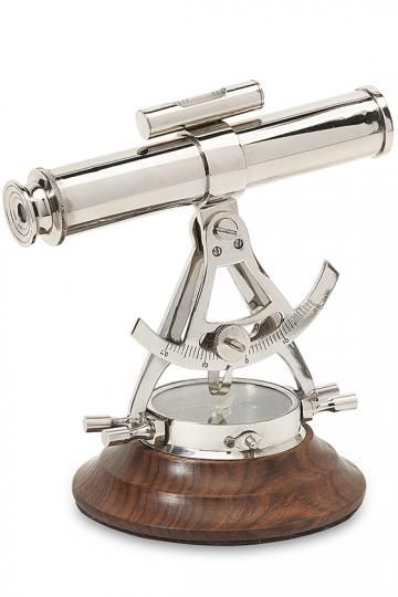 Alidade Telescope Compass - Small Telescope - Starter Telescope - Miniature Telescope | HomeDecorators.com