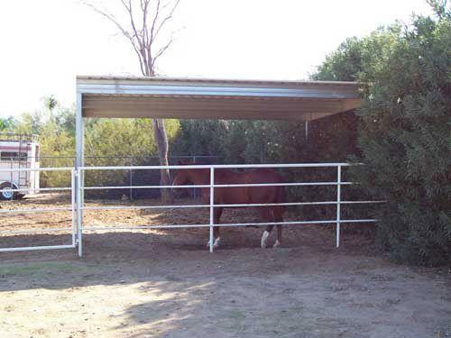 Single Slope Carport Kits Building A Patio Livestock Shelter Carport