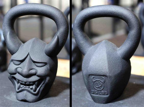 Demonbells.com 35lbs/16kg 'Hannya'