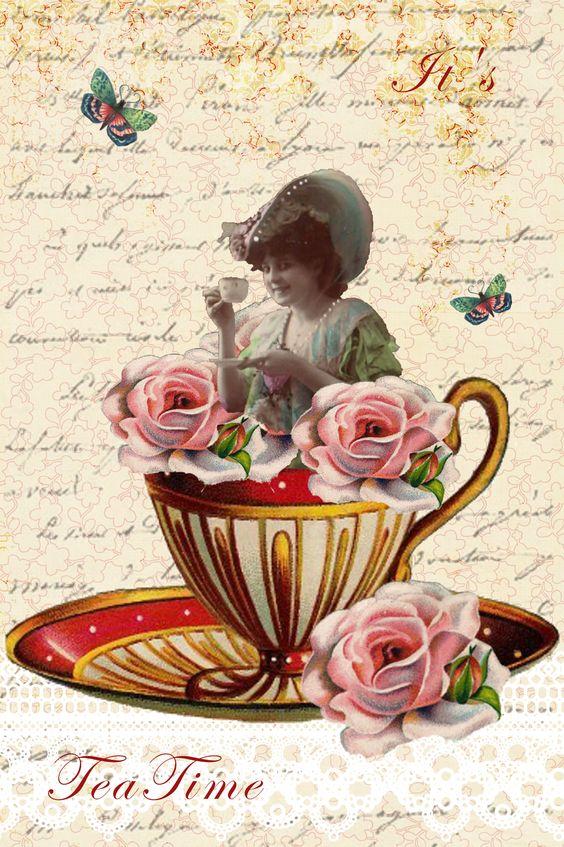 Victorian tea party, Tea parties and Victorian on Pinterest