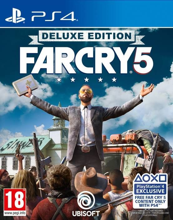 Far Cry 5 Deluxe Edition For Ps4 Far Cry 5 Xbox One Far Cry Game