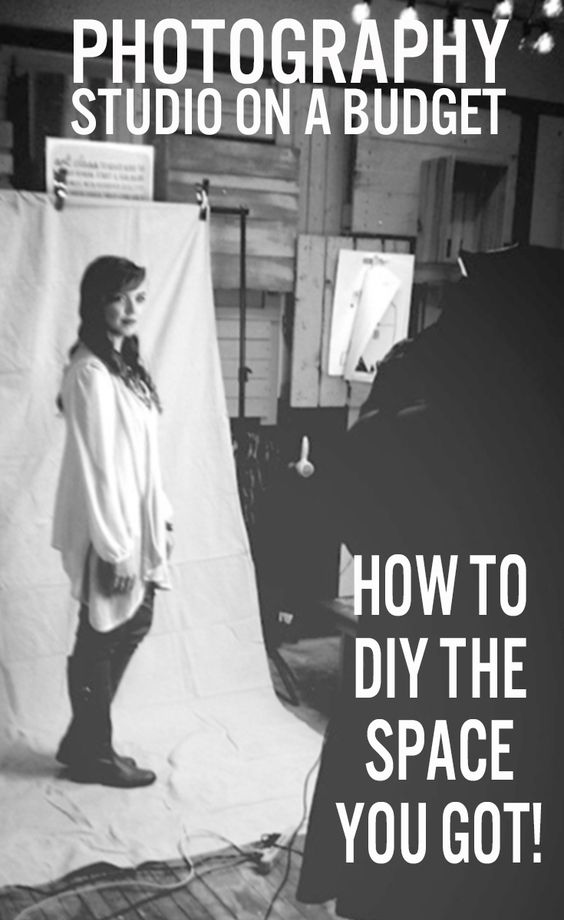 DIY your own custom backdrops and make your studio ROCK on a budget!
