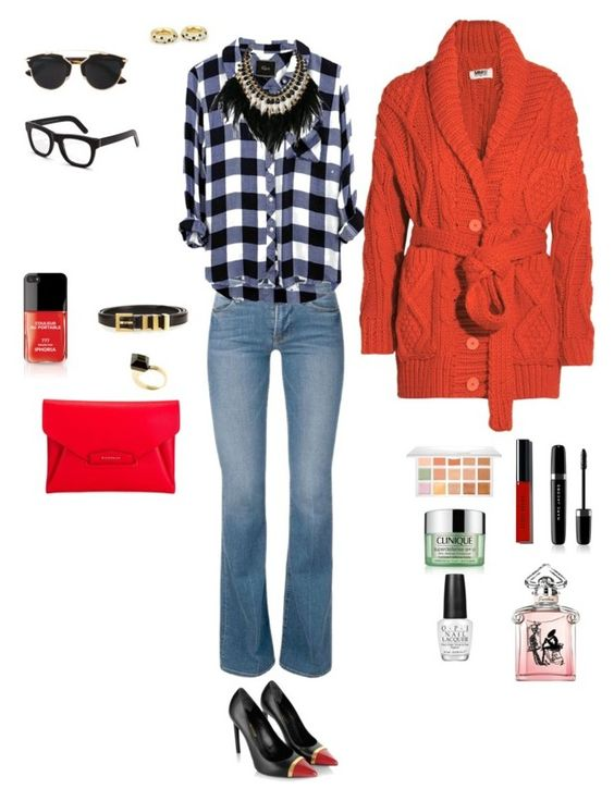 """""""Tarde de Otoño por Buenos Aires!"""" by agustin-moretti on Polyvore featuring Yves Saint Laurent, Givenchy, WithChic, Gucci, Cartier, MM6 Maison Margiela, Christian Dior, RetroSuperFuture, Sephora Collection and Bobbi Brown Cosmetics"""