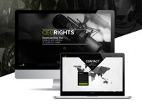 CEG Rights Graphic design web design publishing music netherlands logo design