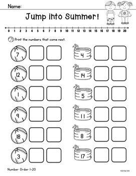 Holiday homework for kindergarten