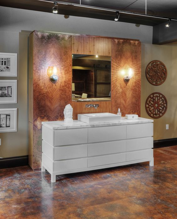 That wooden backdrop - WOW! - [Braam's Custom Cabinets]