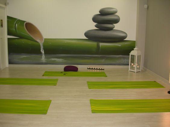Sala de yoga buscar con google sala de yoga - Como decorar una habitacion para hacer yoga ...
