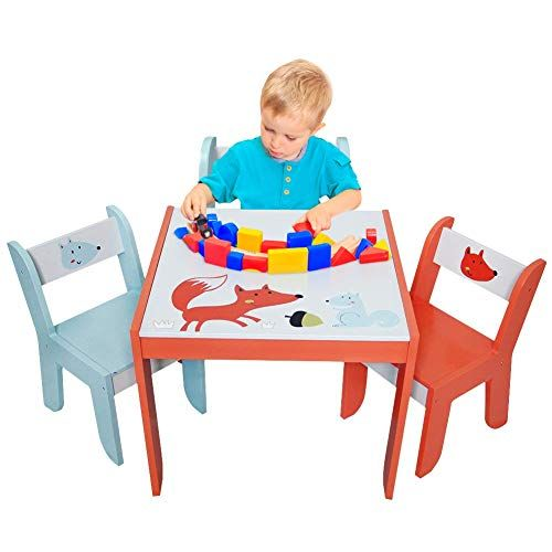 Labebe Wood Table Set For Kids 1 5 Years Activity Table Chair