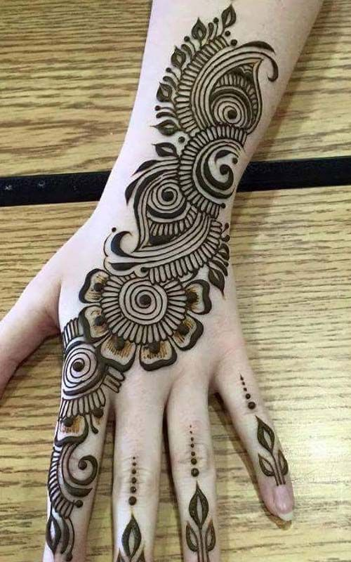 New and easy festival mehndi design 2019