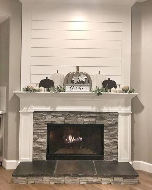 15 Fireplace Ideas To Elevate Any Mantel Any Time Of The Year In 2020 Fireplace Remodel Farm House Living Room Home Fireplace
