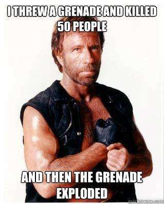 Chuck Norris Jokes | The 50 Best Chuck Norris Facts & Memes (Page 20):