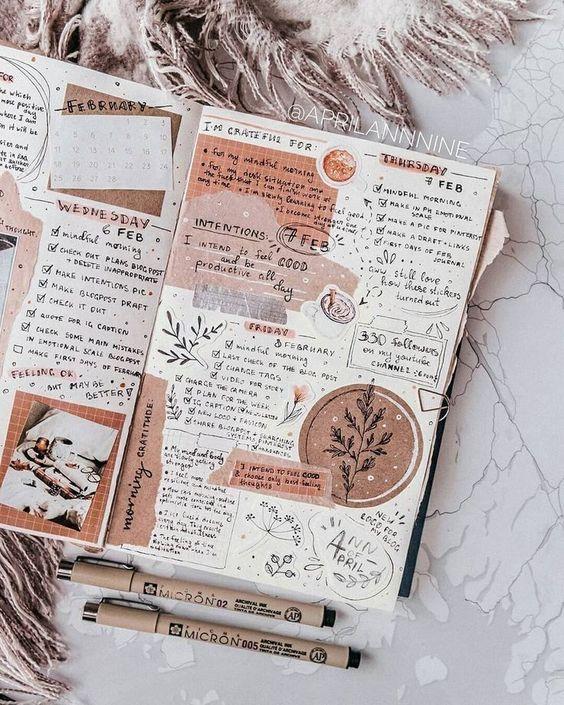7 erreurs à éviter lorsqu'on tient un Bullet Journal