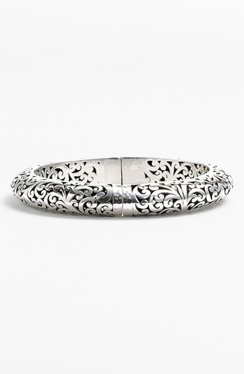 Lois Hill 'Balls & Chains' Cutout Oval Bangle available at Nordstrom, $434