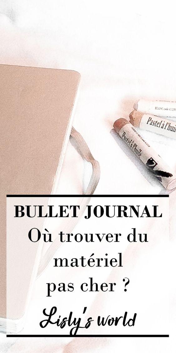 Où trouver du matériel pas cher pour son Bullet Journal ?