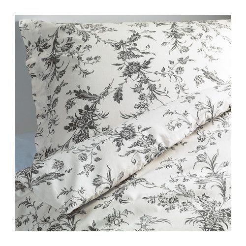 ALVINE KVIST Bettwäscheset, 2-teilig IKEA Kühle Bettwäsche aus Perkal, einem dichtgewebten, feinfädigen Baumwollgarn.