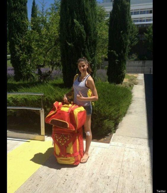 Uniforme olímpico español: el COE dice que lo importante es que sale gratis (FOTOS)