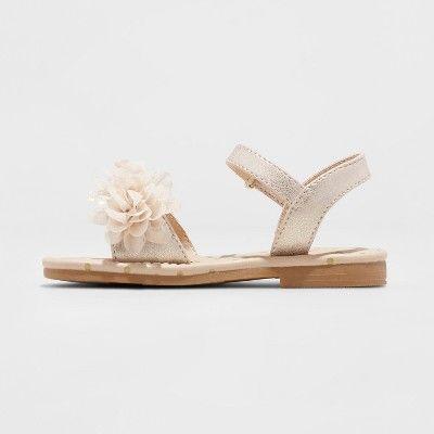 Toddler Girls/' Daralee Flower Sandals Cat /& Jack Gold