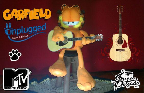 Garfield Unplugged hecho en fomi