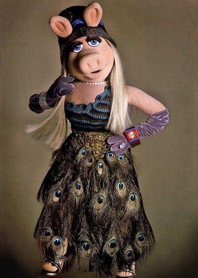Miss Piggy's fashionable life in pictures - Fashion Galleries ~ Chanel