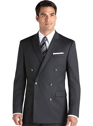 This is Al's suit for the wedding!!! Mens - Calvin Klein Charcoal