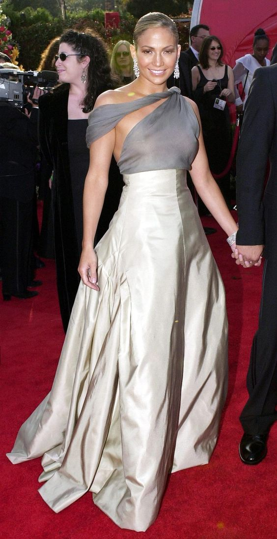 Jennifer Lopez #Style #Fashion -- https://www.etsy.com/shop/Whitesrose Go here for your Dream Wedding Dress and Fashion Gown!