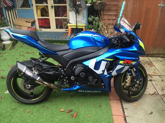 My dads Suzuki GSXR1000. He's 65 years old and the fastest rider i know!